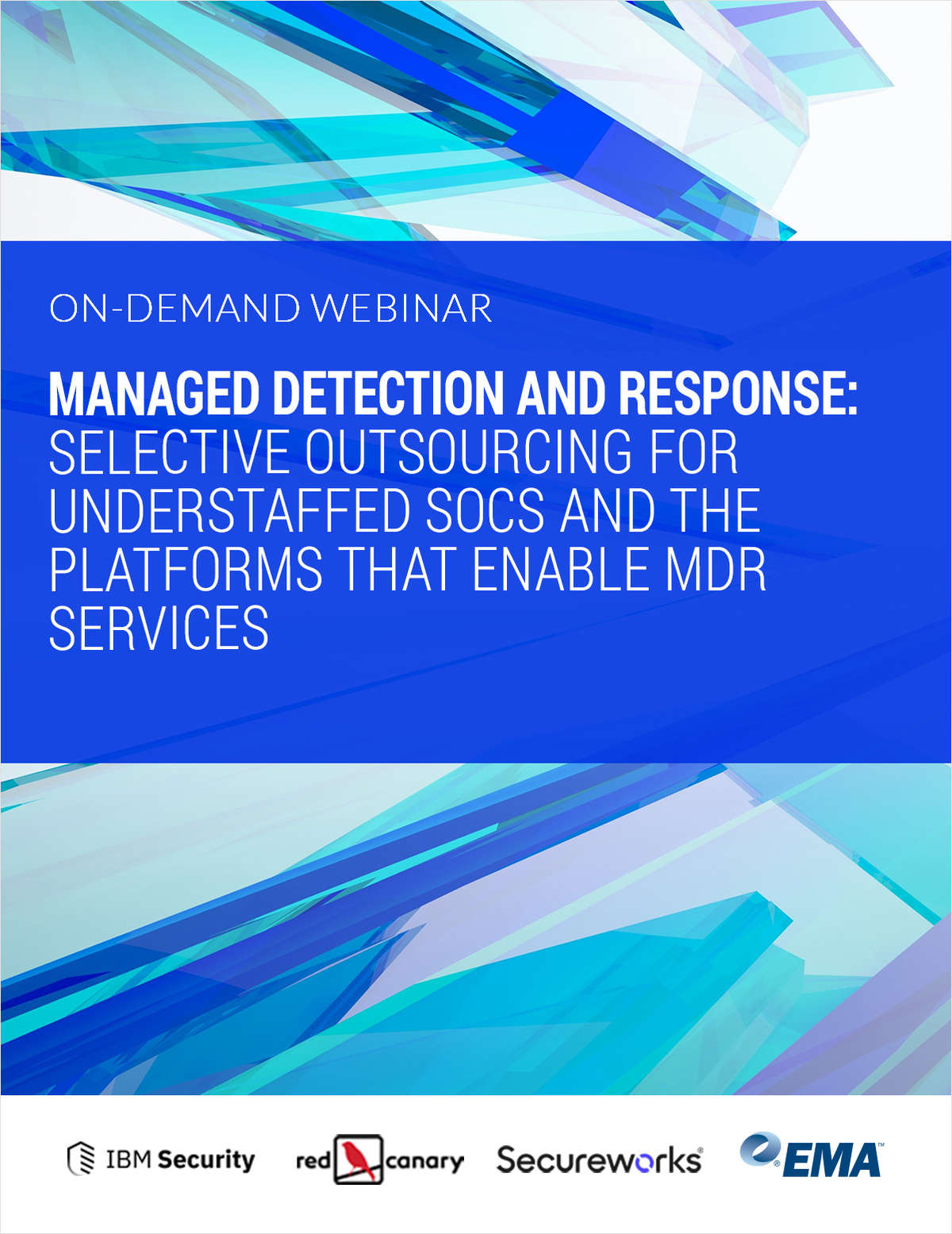 ON-DEMAND RESEARCH WEBINAR: Managed Detection and Response