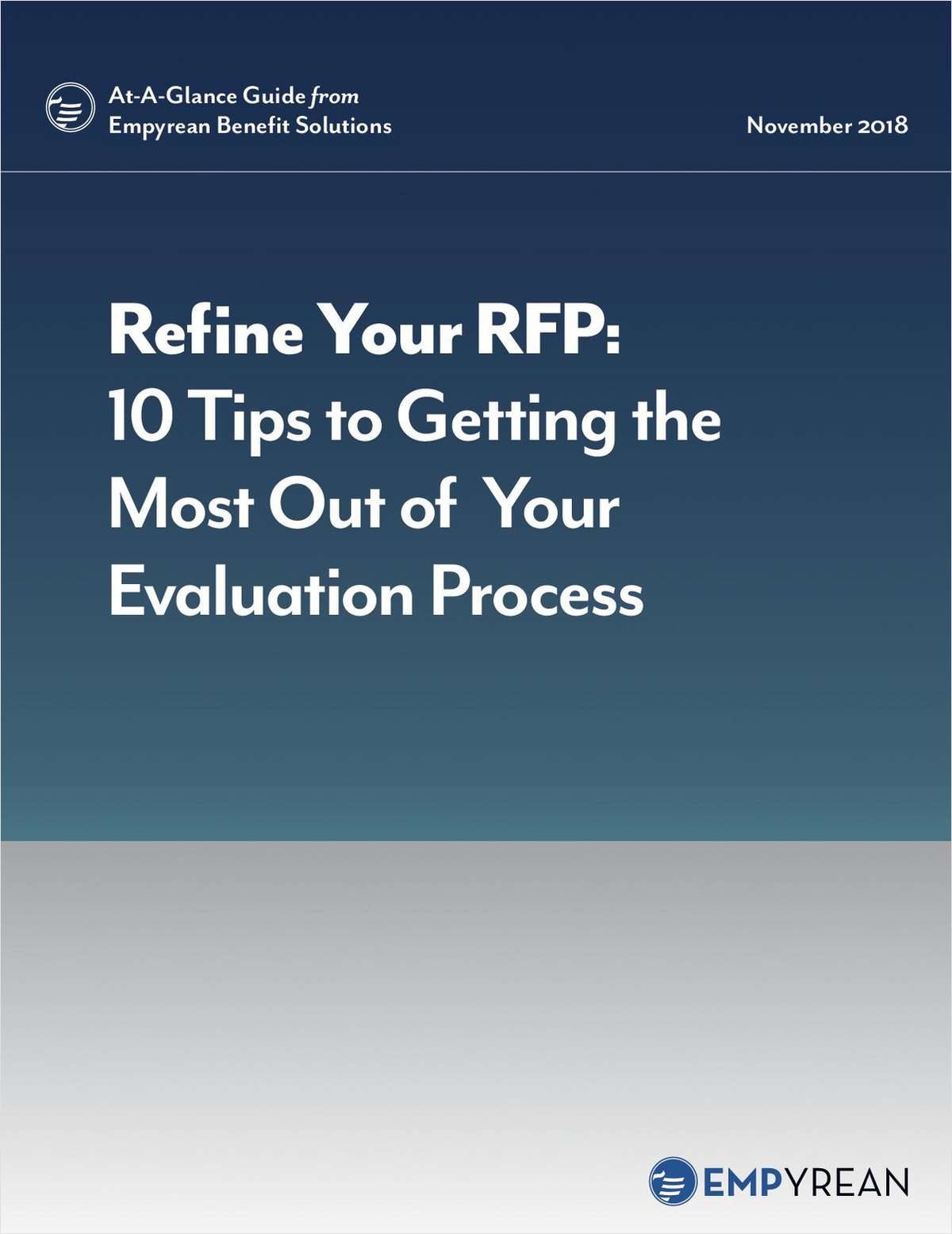 Refine Your RFP: 10 Tips to Getting the Most Out of Your