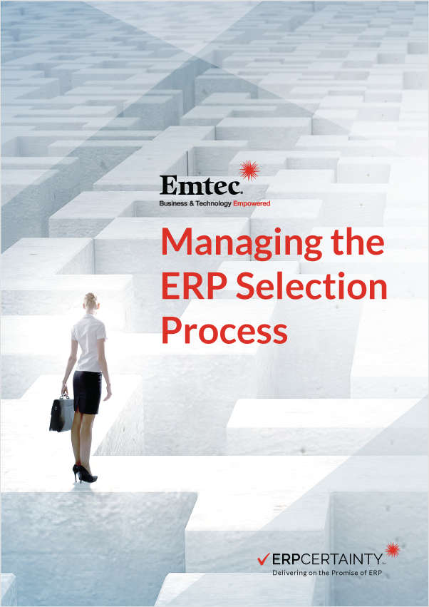 Managing the ERP Selection Process
