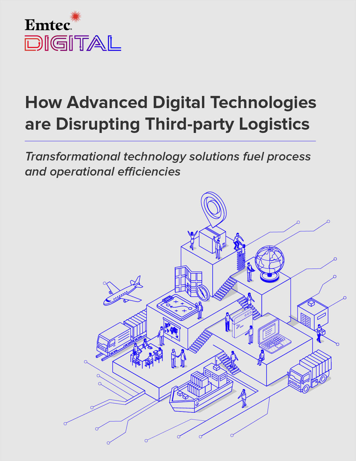 How Advanced Digital Technologies are Disrupting Third-party Logistics