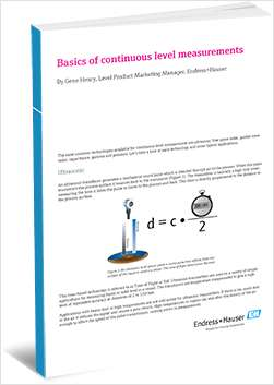 Basics of Continuous Level Measurement