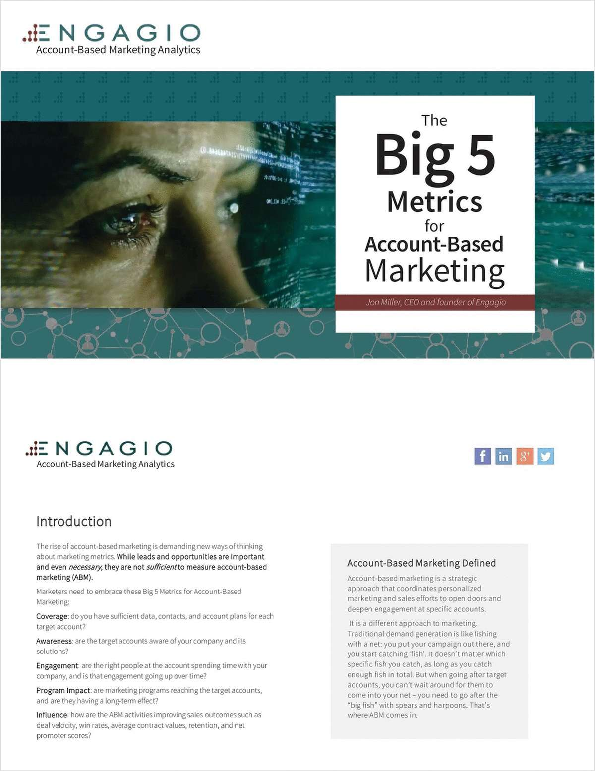 The Big 5 Metrics for Account-Based Marketing
