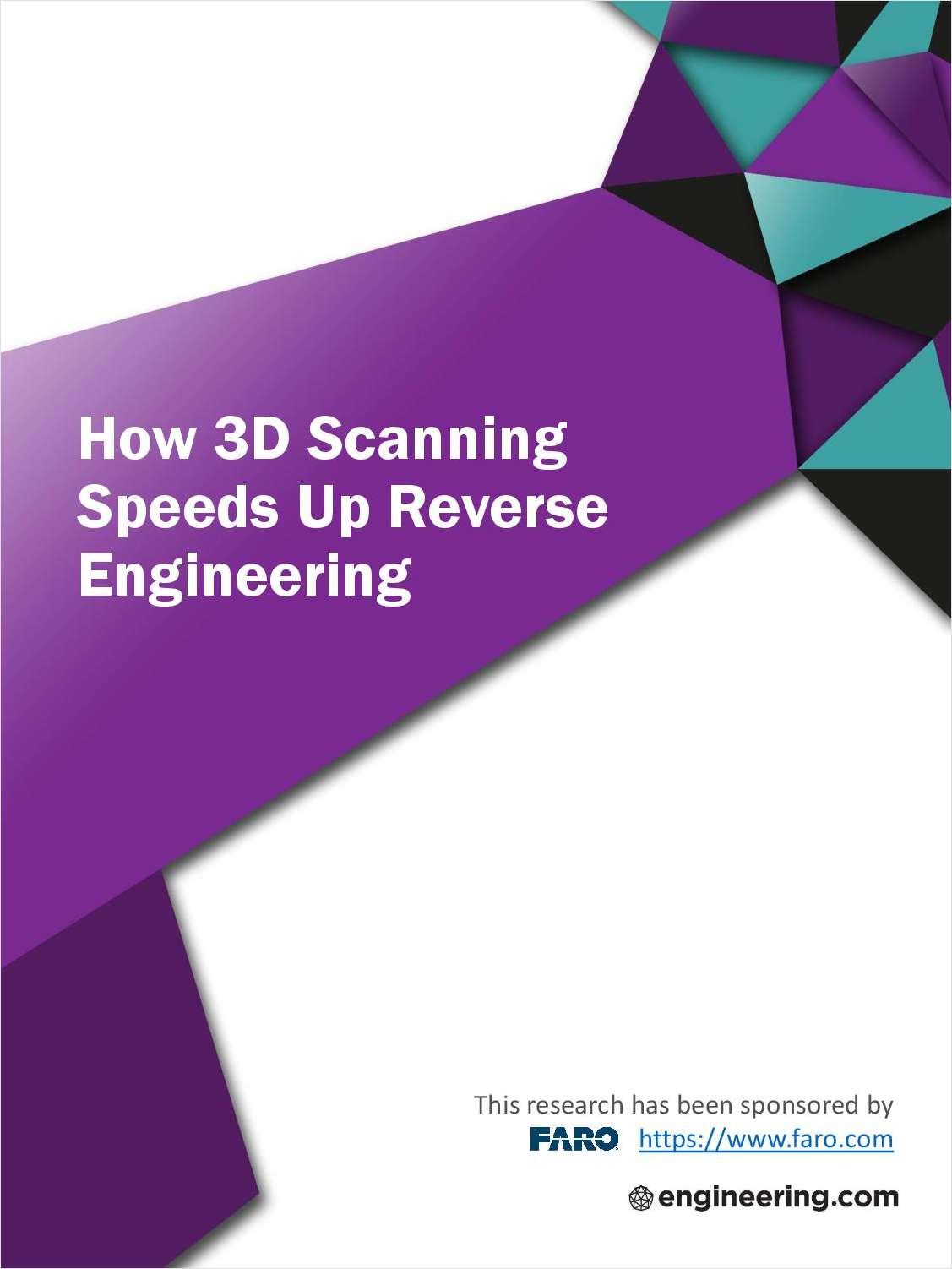 How 3D Scanning Speeds Up Reverse Engineering