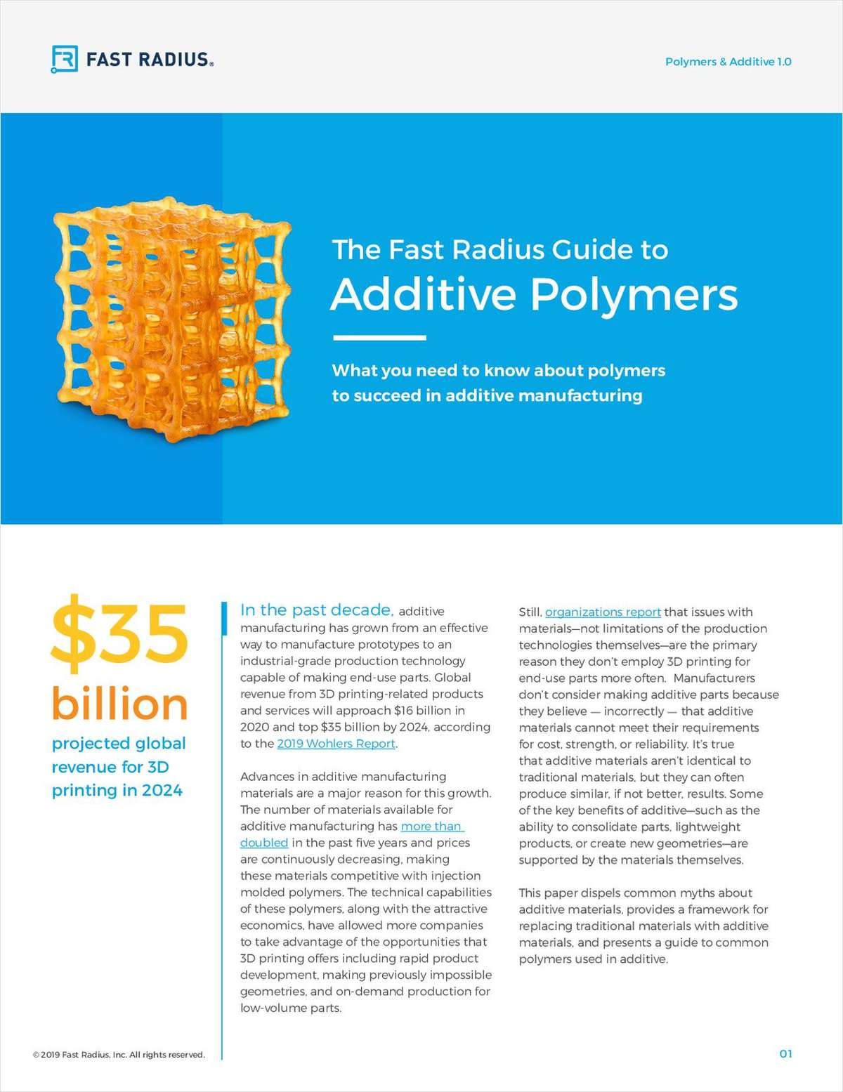 The Fast Radius Guide to Additive Polymers