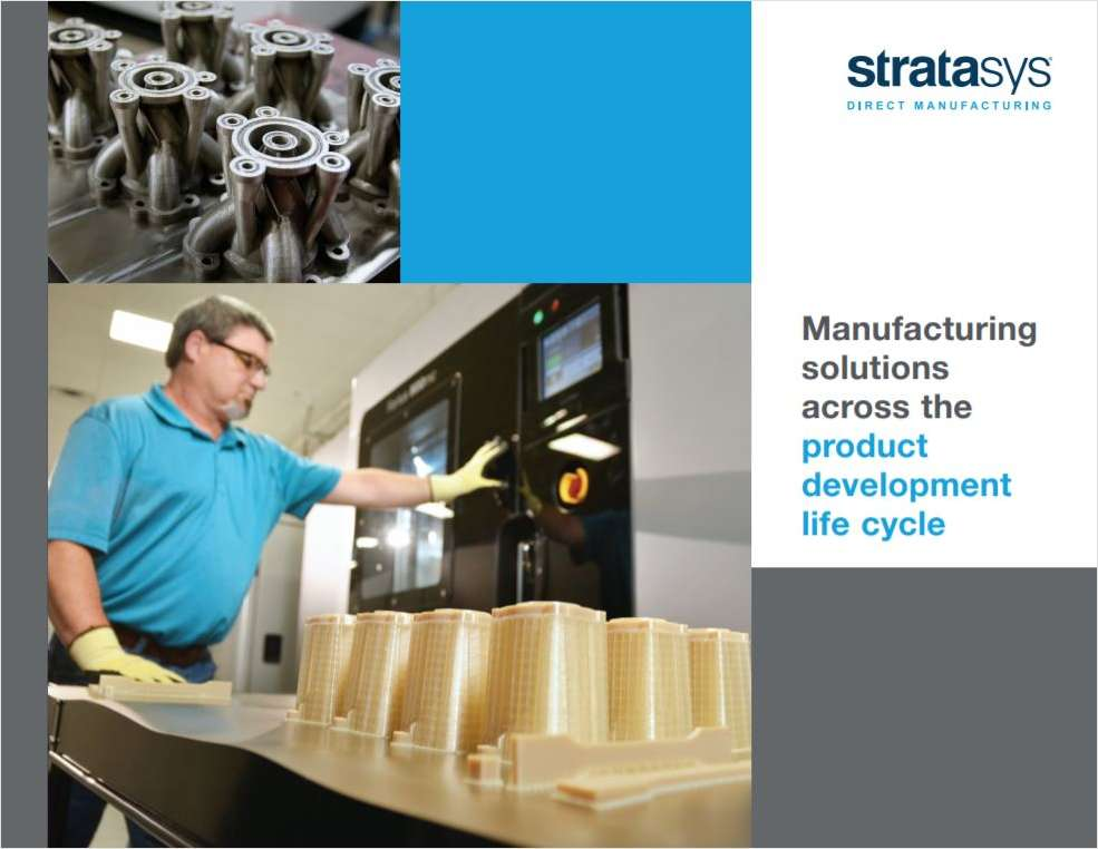 Manufacturing Solutions Across the Product Development Life Cycle