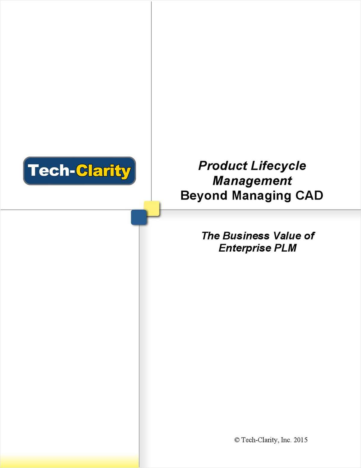 Product Lifecycle Management - Beyond Managing CAD