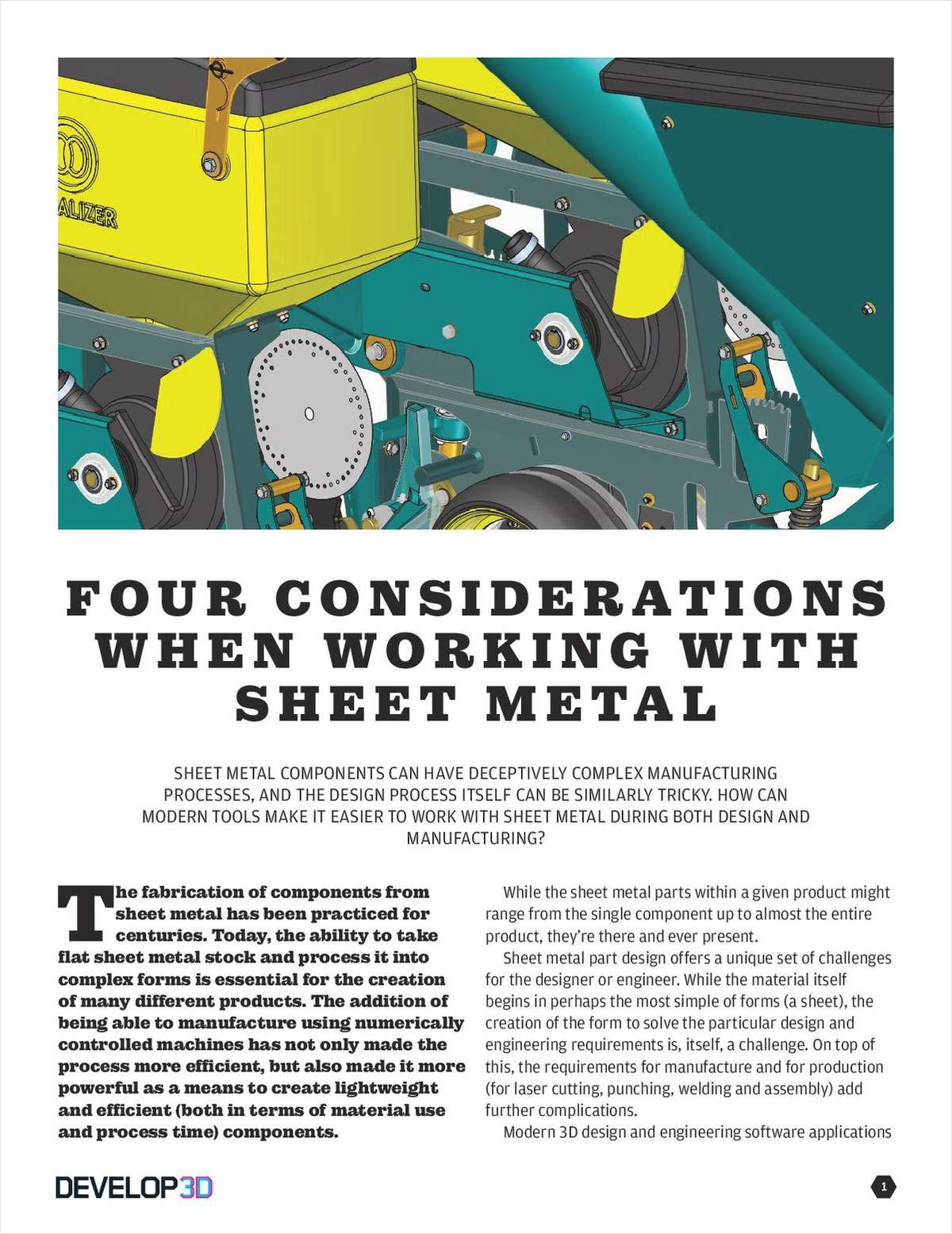 Four Considerations When Working with Sheet Metal