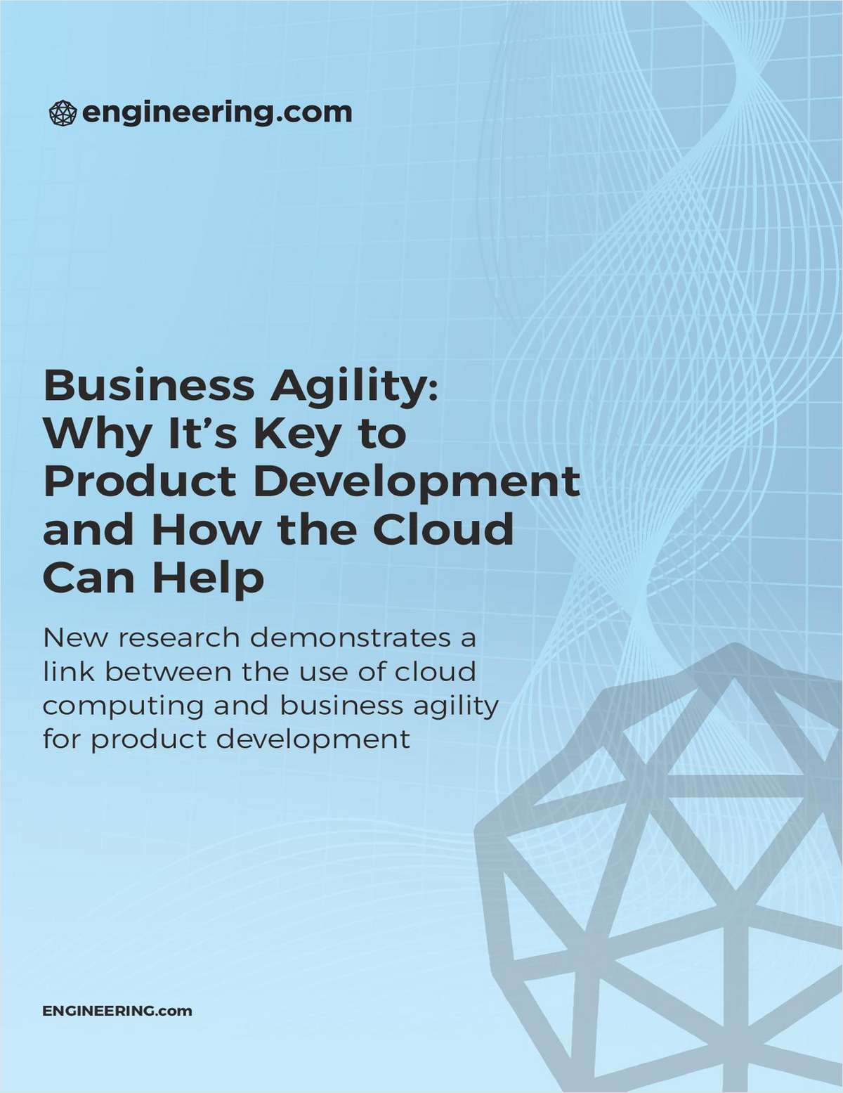 Agility in Product Development with the Cloud