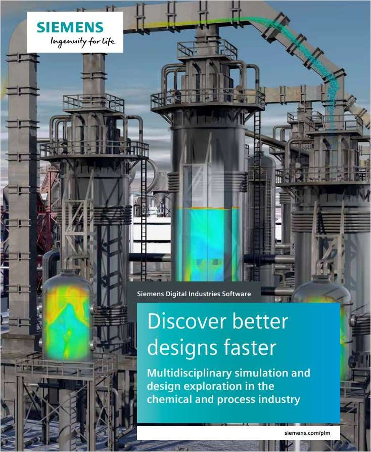 Multidisciplinary Simulation and Design Exploration in the Chemical and Process Industry