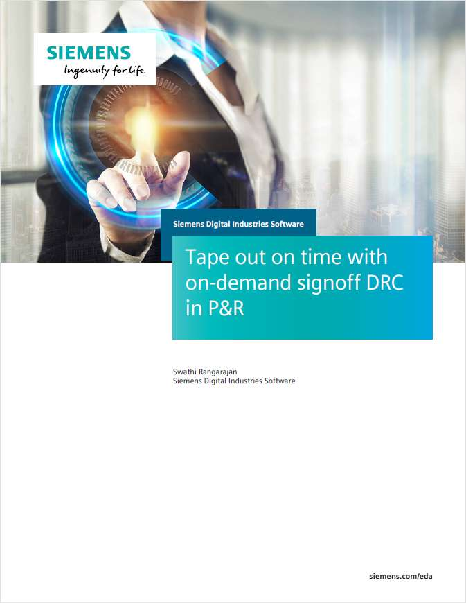 Tape Out On Time with On-Demand Signoff DRC in P&R