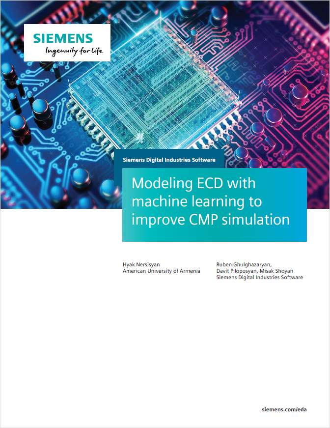 Modeling ECD with Machine Learning for CMP Simulation