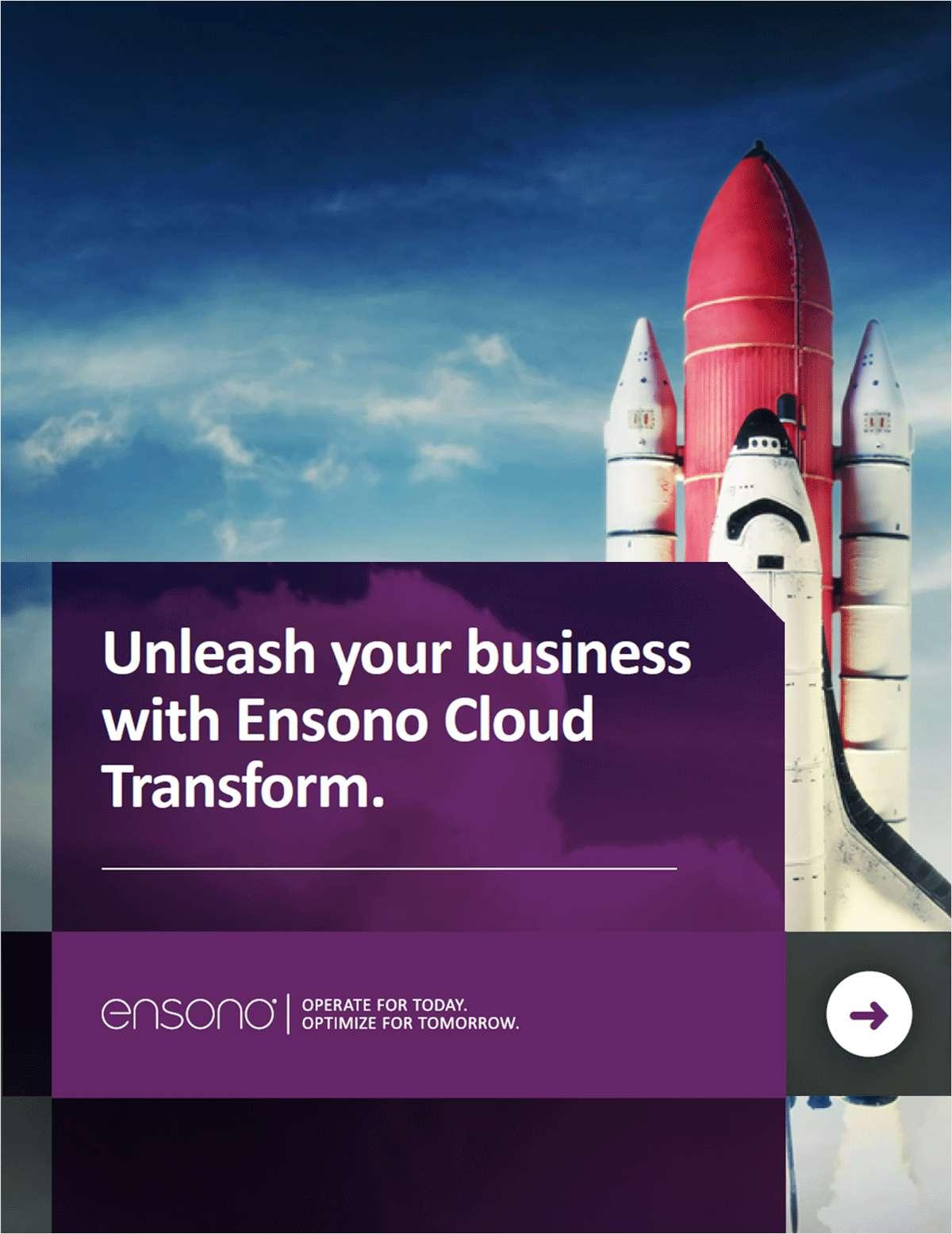 Unleash Your Business With Ensono Cloud Transform