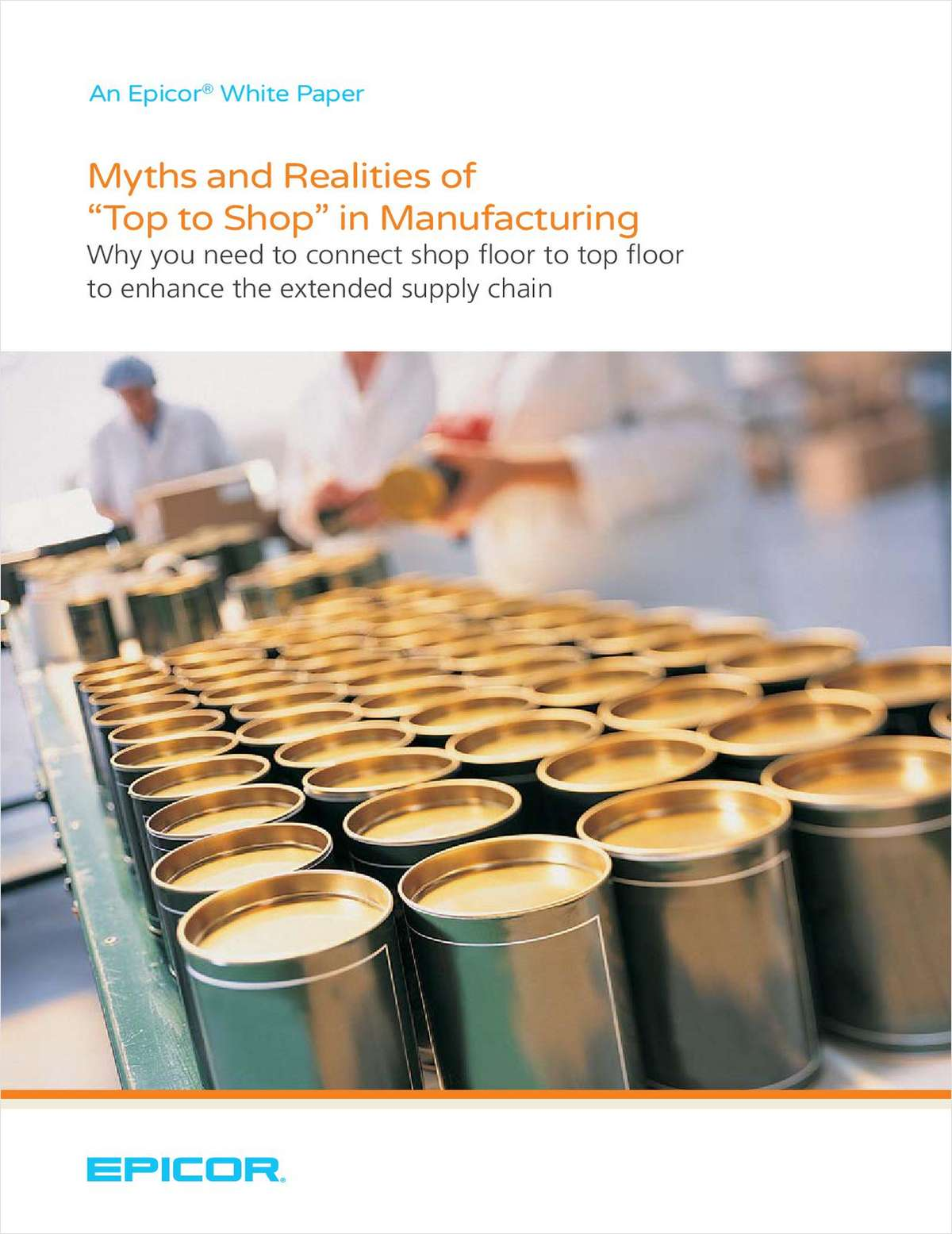 Myths and Realities of 'Top to Shop' in Manufacturing