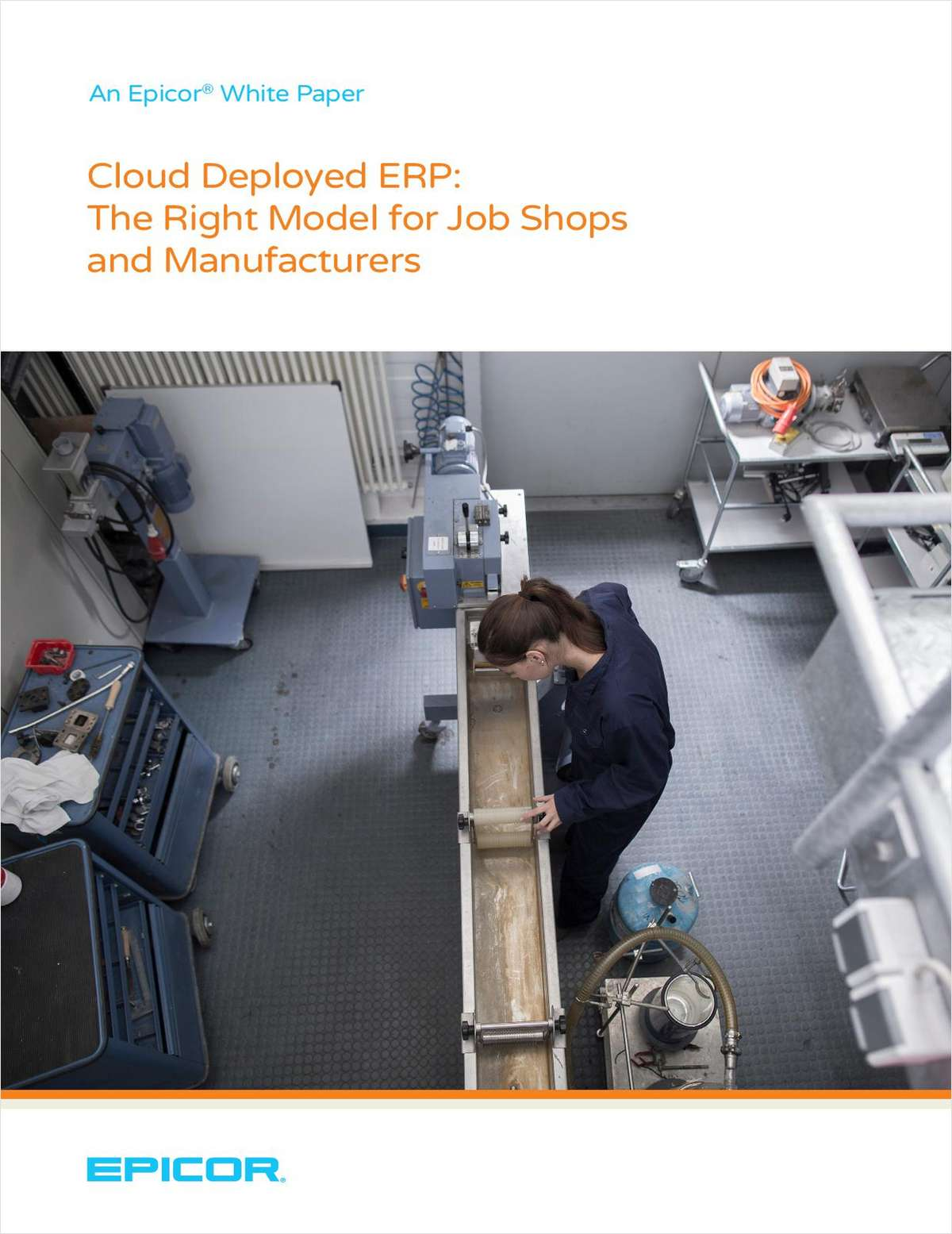Cloud Deployed ERP:  The Right Model for Job Shops and Manufacturers
