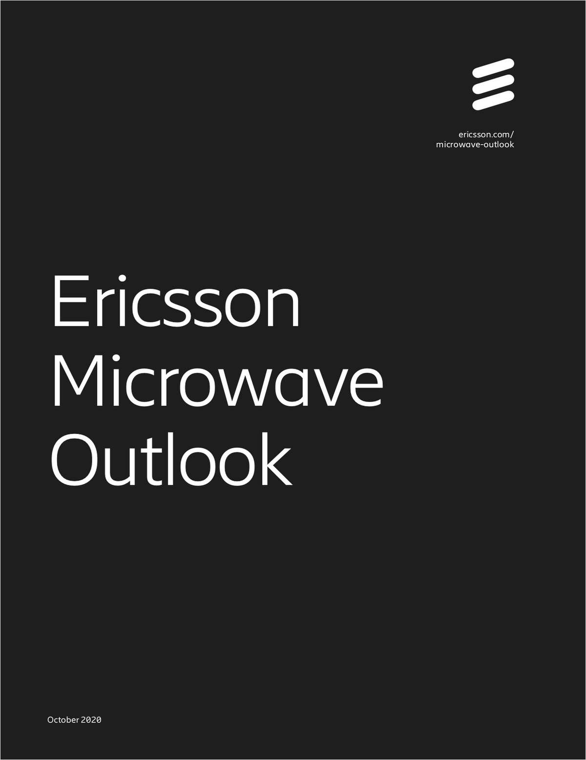 Enhancing 5G with microwave - 2020 Ericsson Microwave Outlook report