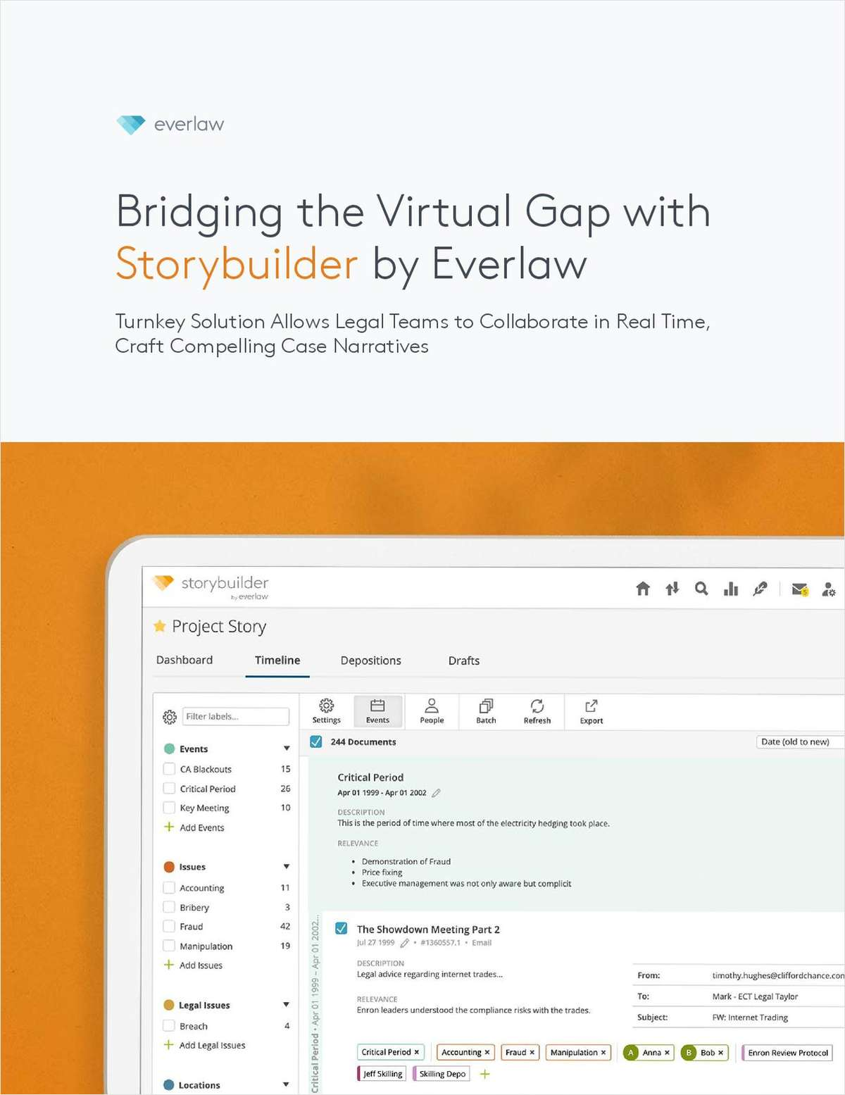 Bridging the Virtual Gap with Storybuilder by Everlaw