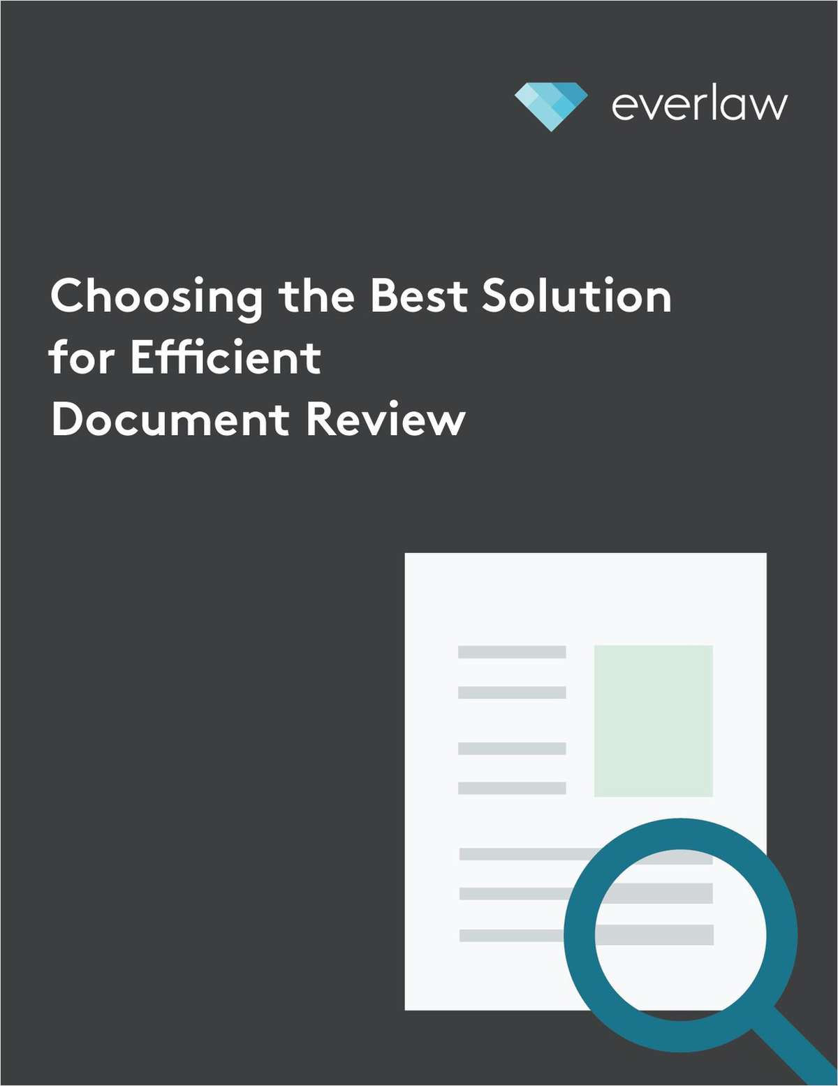 Choosing the Best Solution for Efficient Document Review
