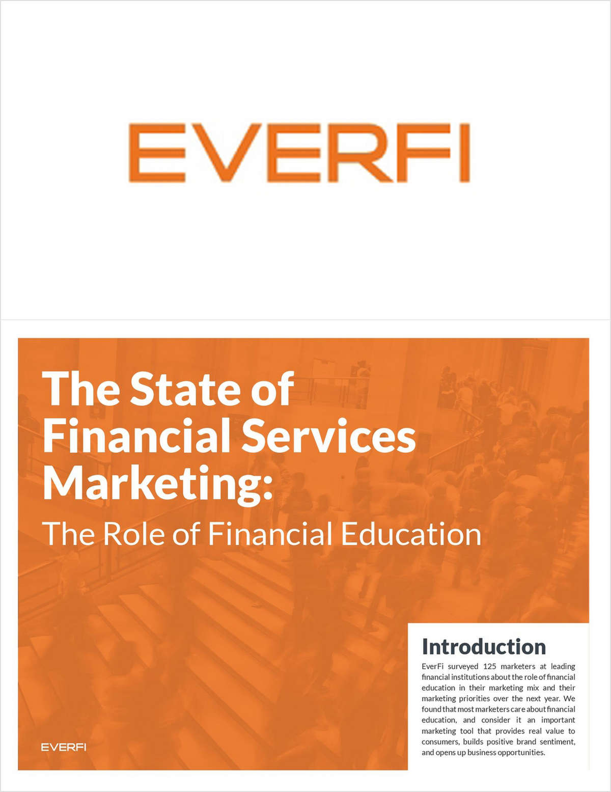 The State of Financial Services Marketing: The Role of Financial Education