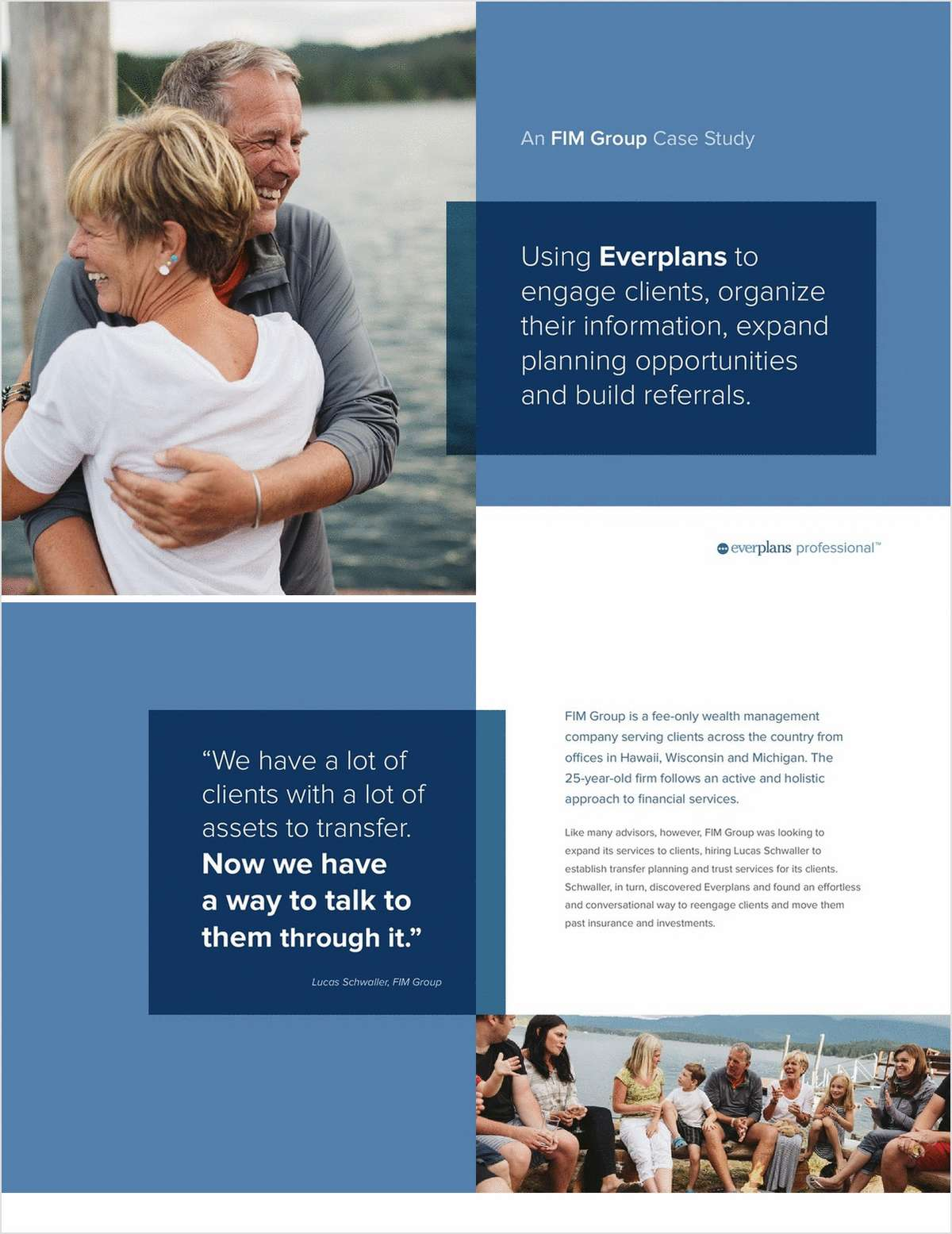 Expand Planning Opportunities to Engage Clients & Build Referrals -- A Case Study