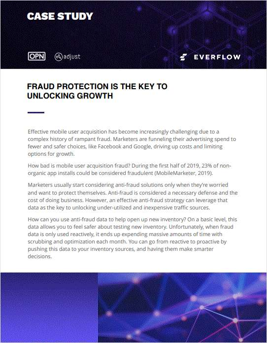 Case Study: Mobile Anti-Fraud