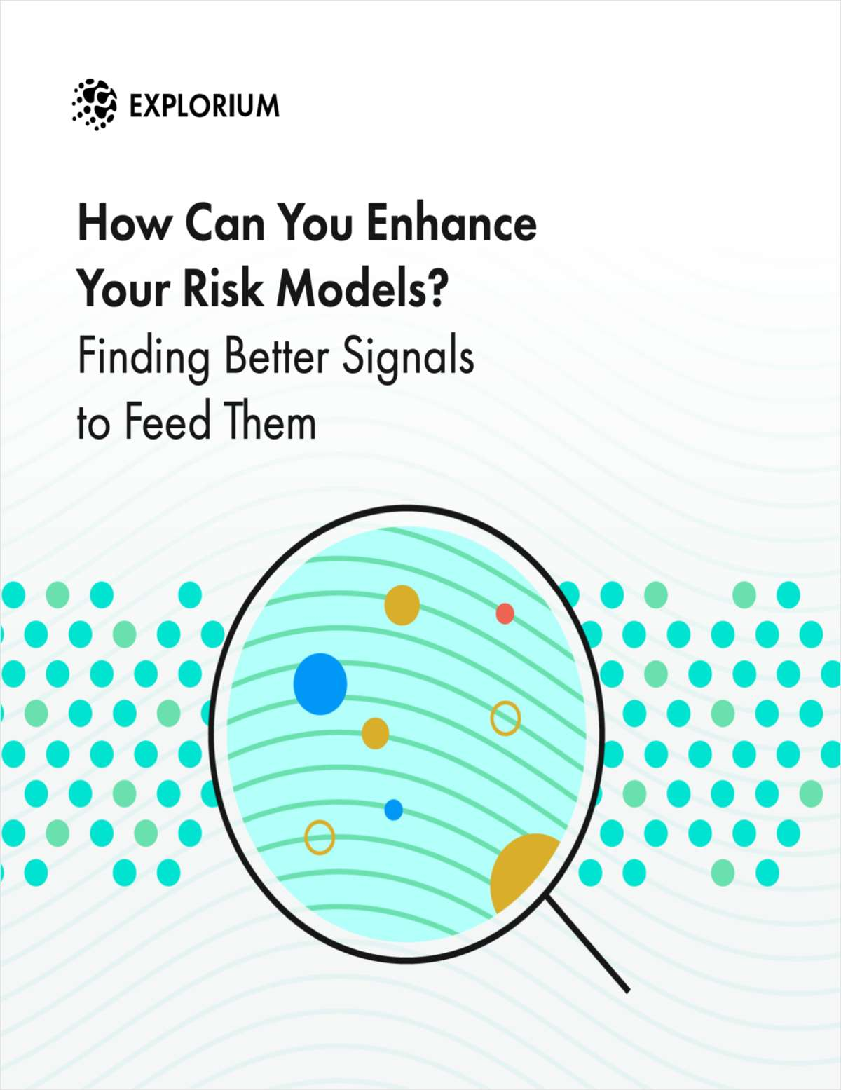 How Can You Enhance Your Risk Models? Finding Better Signals to Feed Them