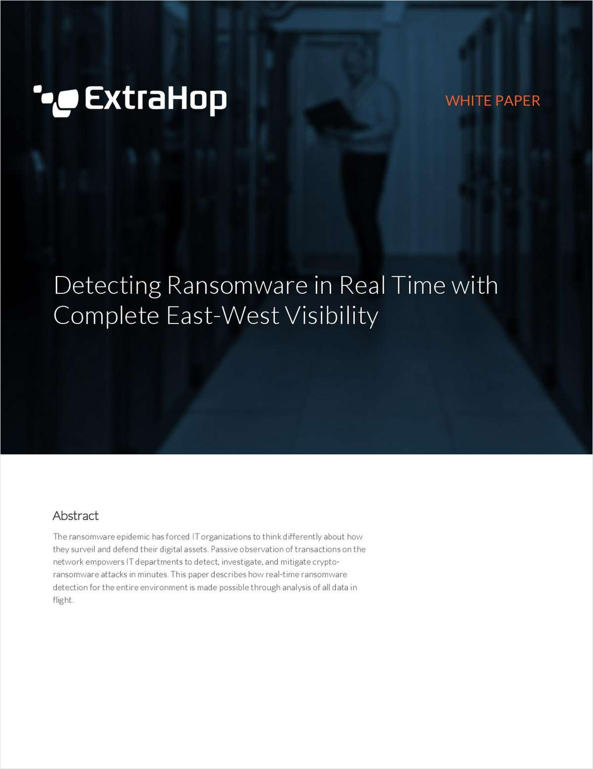 Detecting Ransomware in Real Time with Complete East-West Visibility