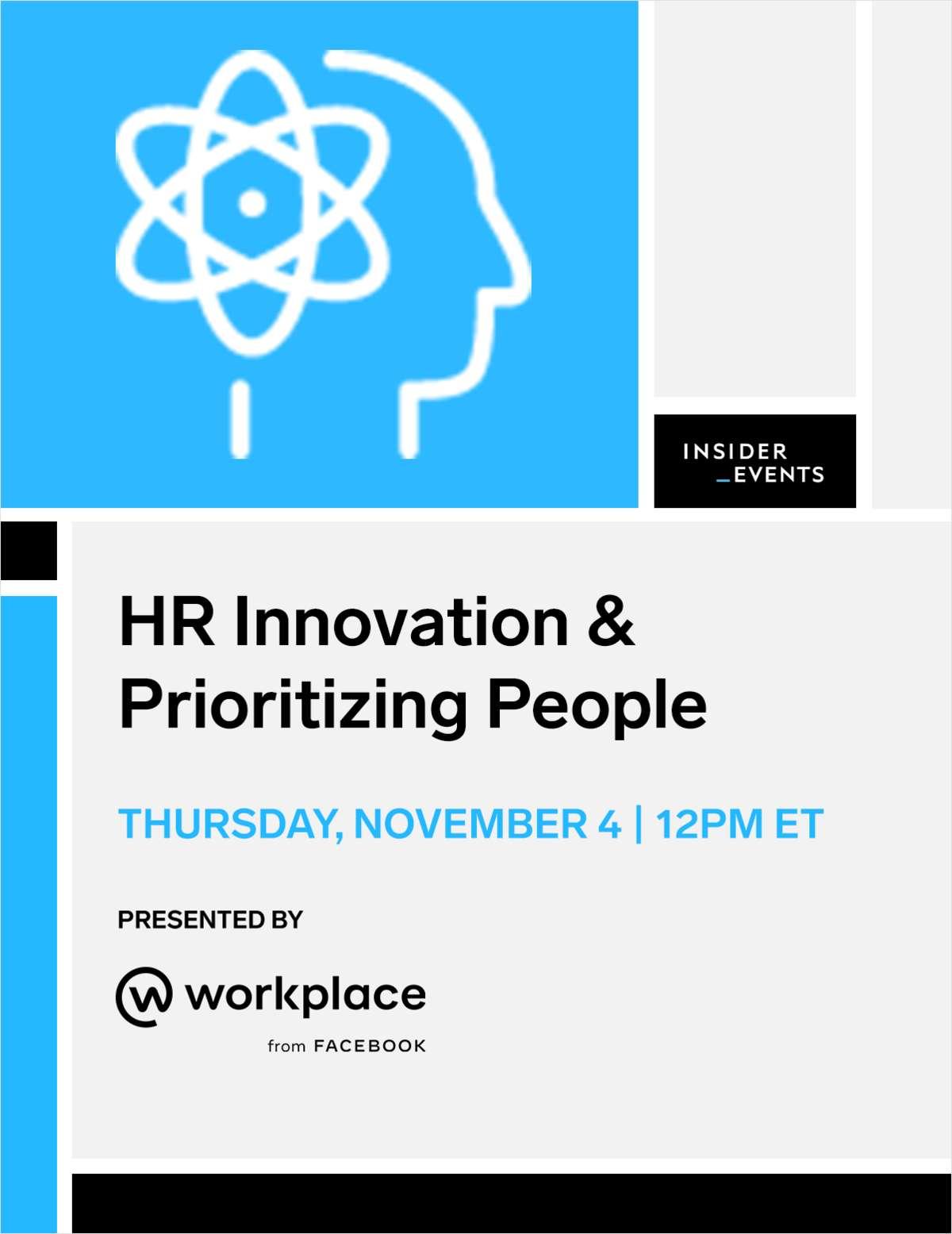 HR Innovation & Prioritizing People