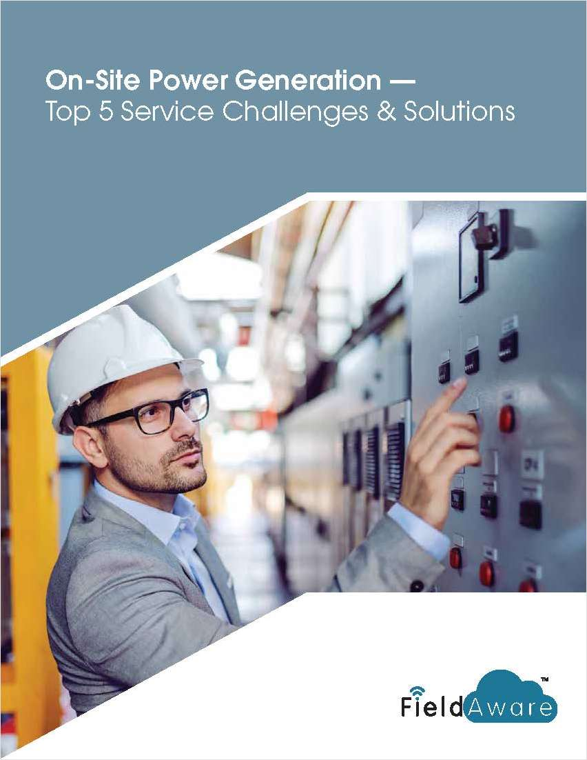 On-Site Power Generation -- Top 5 Service Challenges & Solutions