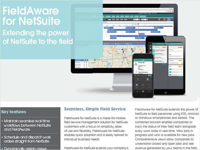 Extending the Power of NetSuite to the Field