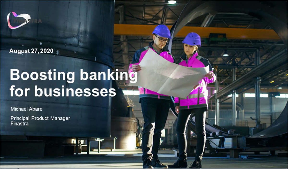 Tap Into the Underserved Business Banking Market