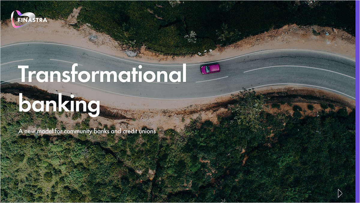 Transformational Banking: A New Model