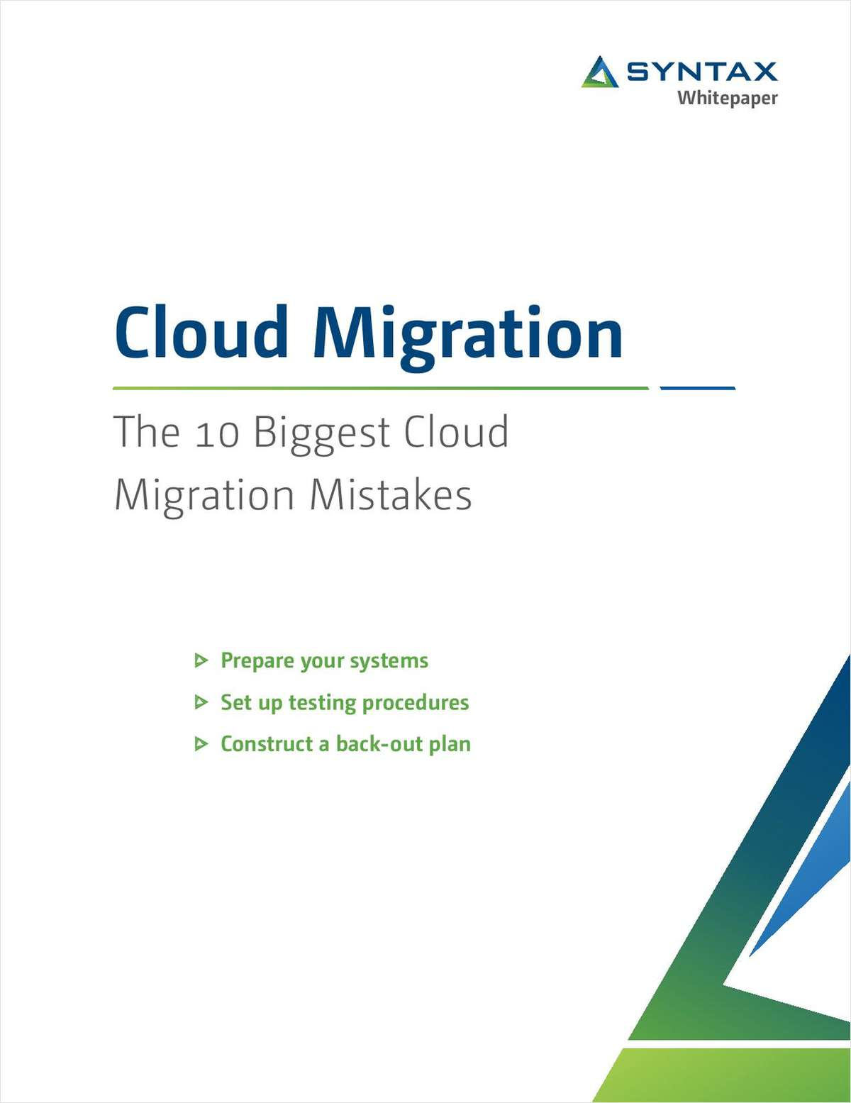 The 10 Biggest Cloud Migration Mistakes - GISuser com