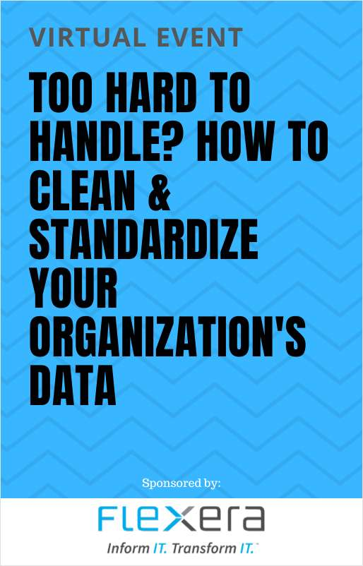 Webinar On Demand: Too Hard to Handle? How to Clean and Standardize Your Organization's Data