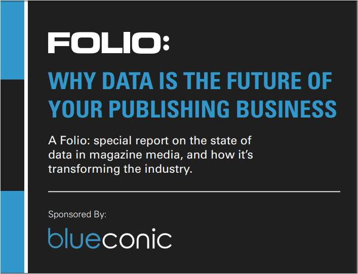 Why Data Is the Future of Your Publishing Business
