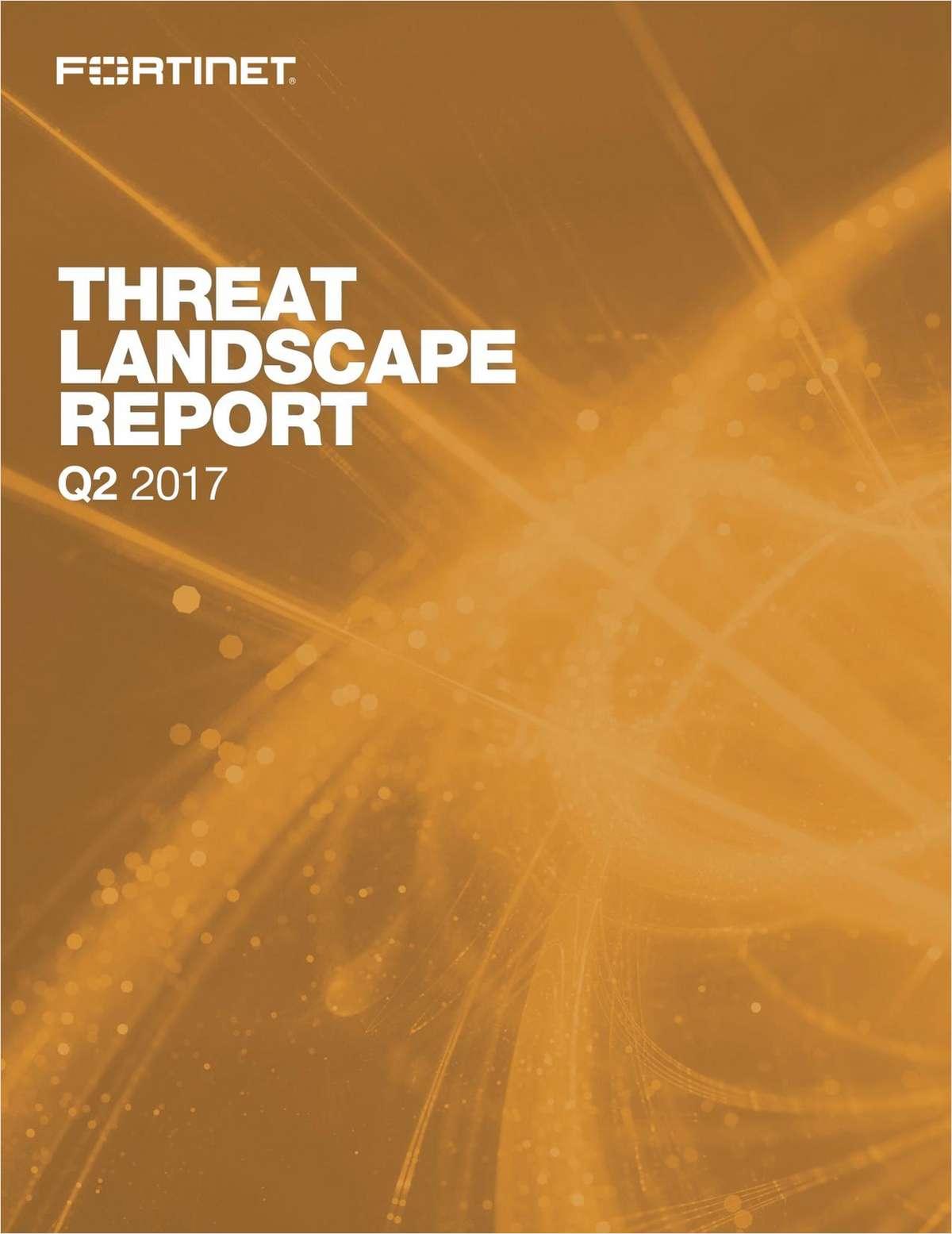 Fortinet Threat Landscape Q2 2017
