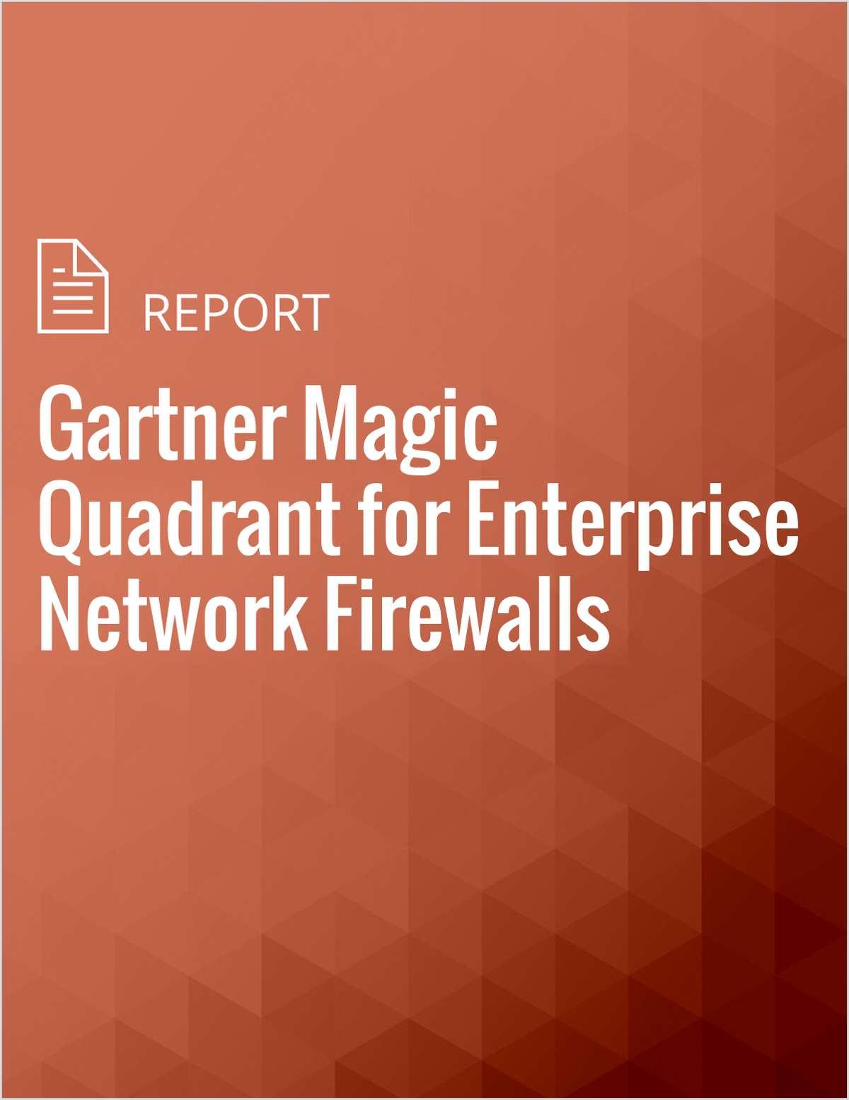 Gartner Magic Quadrant for Enterprise Network Firewalls