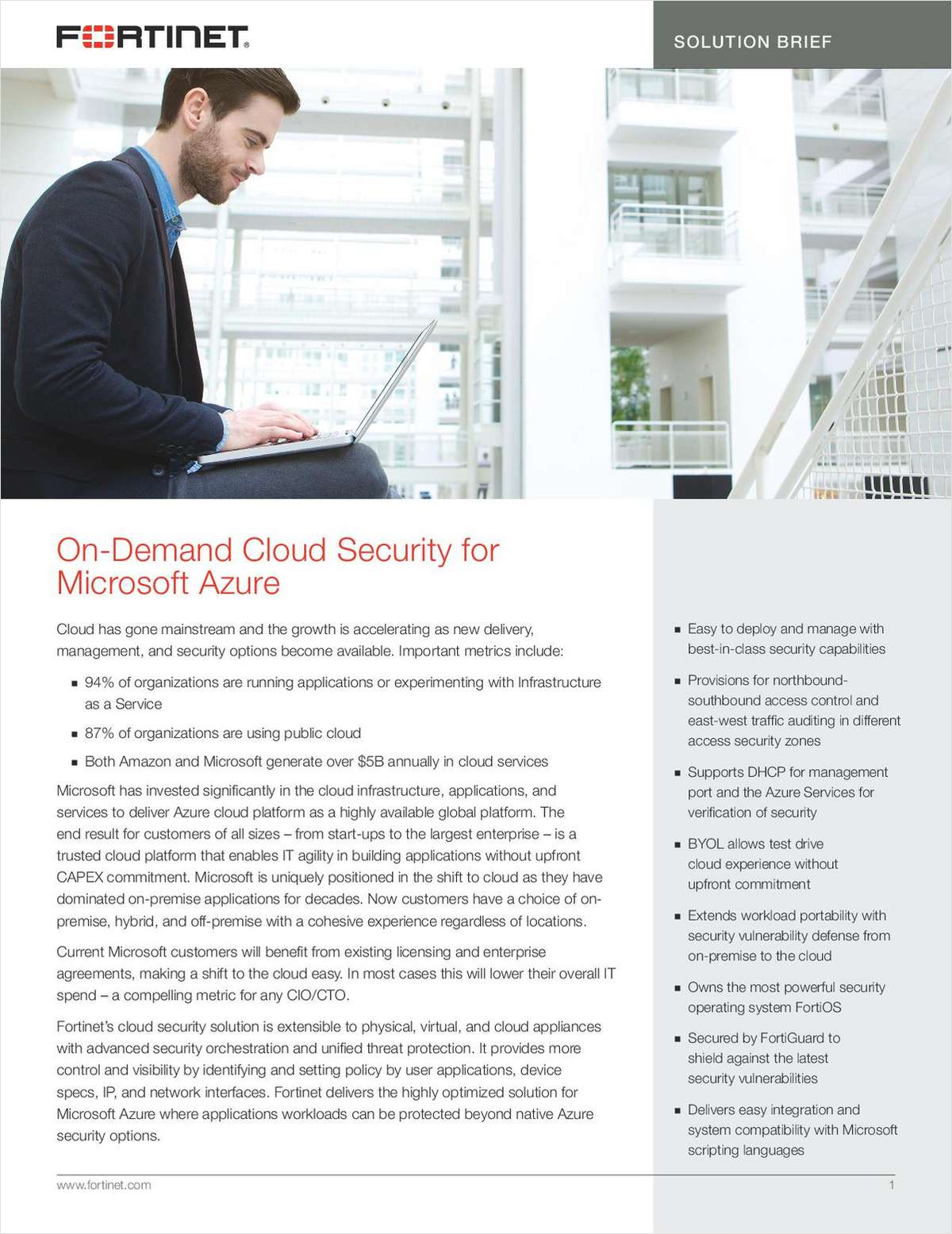 On-Demand Cloud Security for Microsoft Azure