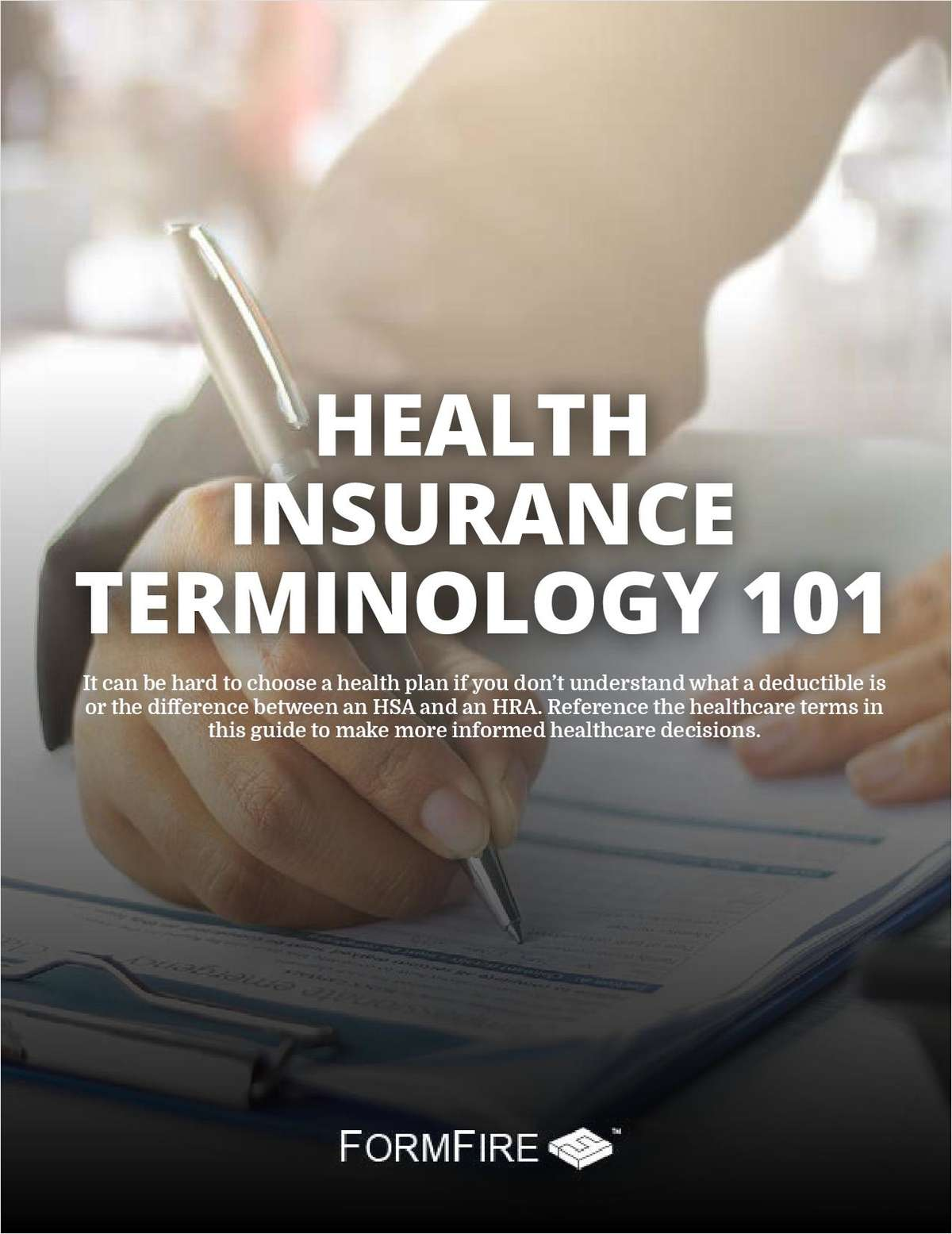 Client Tool: Health Insurance Terminology 101