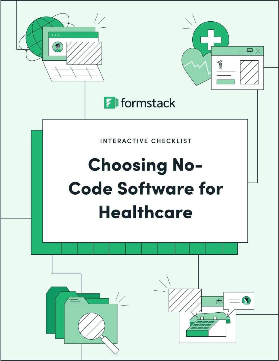 Choosing No-Code Software for Healthcare