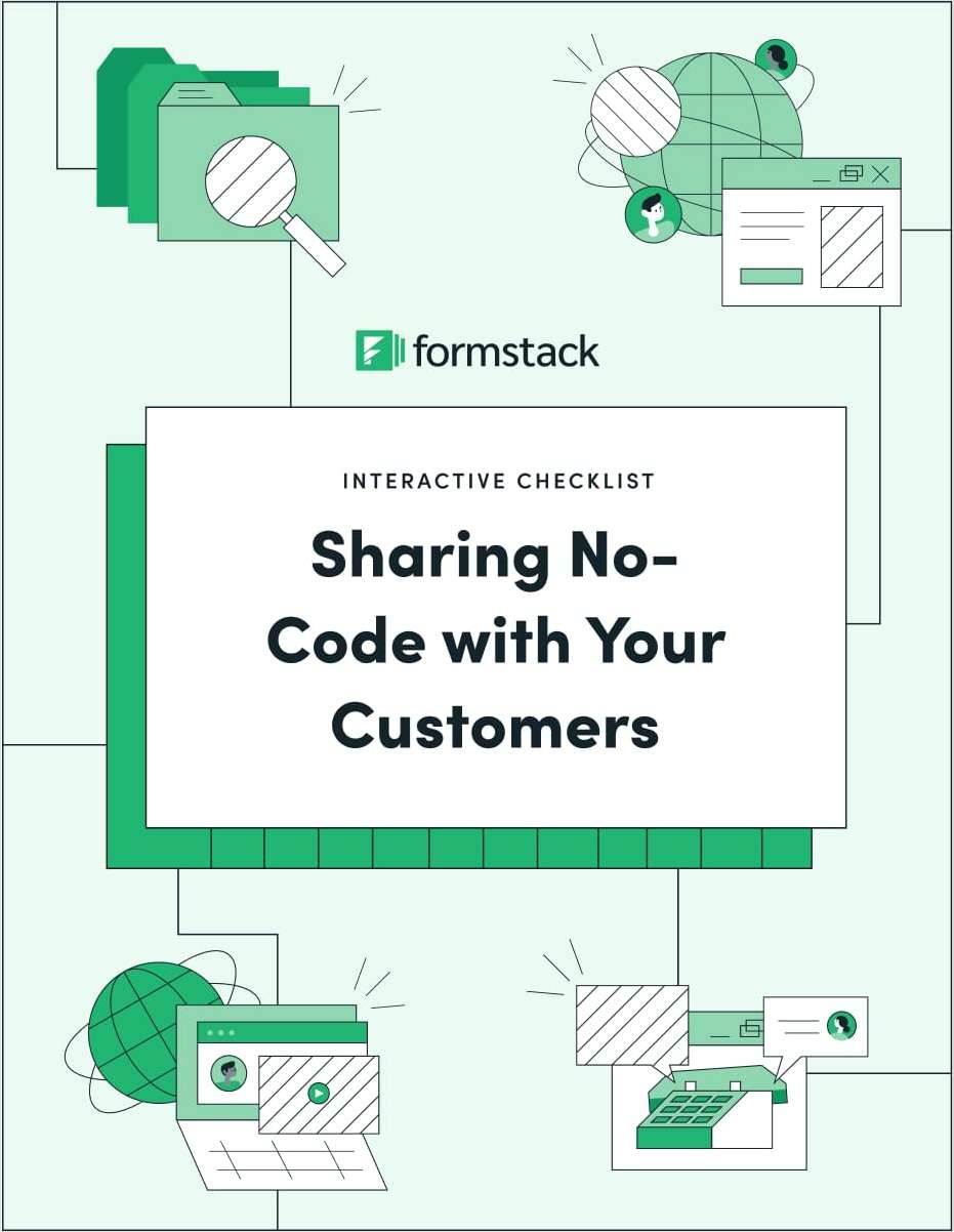 Sharing No-Code with Your Customers