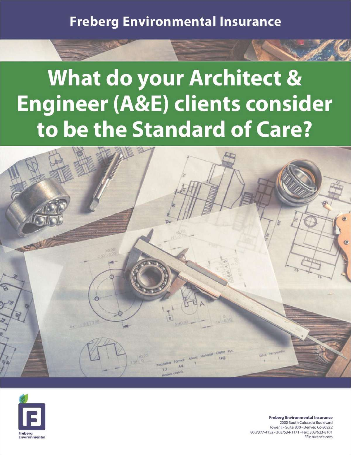 What Do Your Architect & Engineer (A&E) Clients Consider to Be the Standard of Care?
