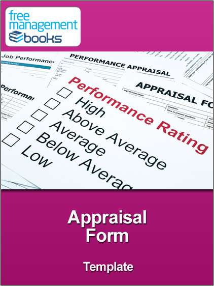 Appraisal Form Template
