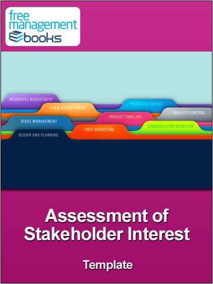 Assessment of Stakeholder Interest Template