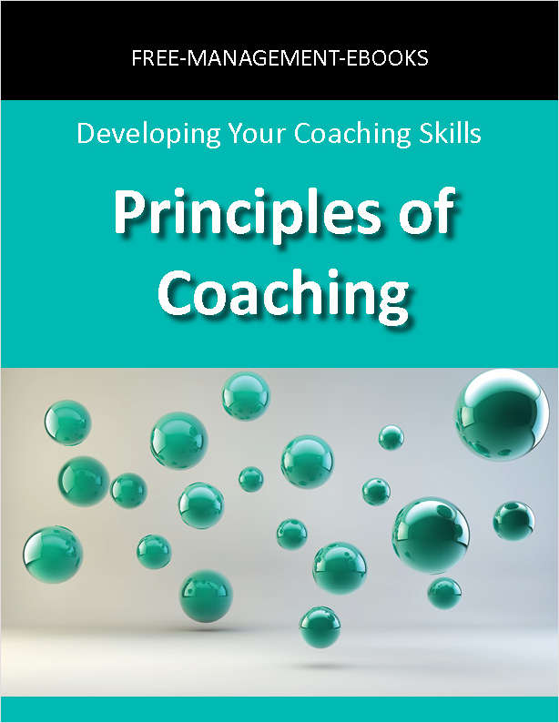 Principles of Coaching -- Developing Your Coaching Skills, Free Free