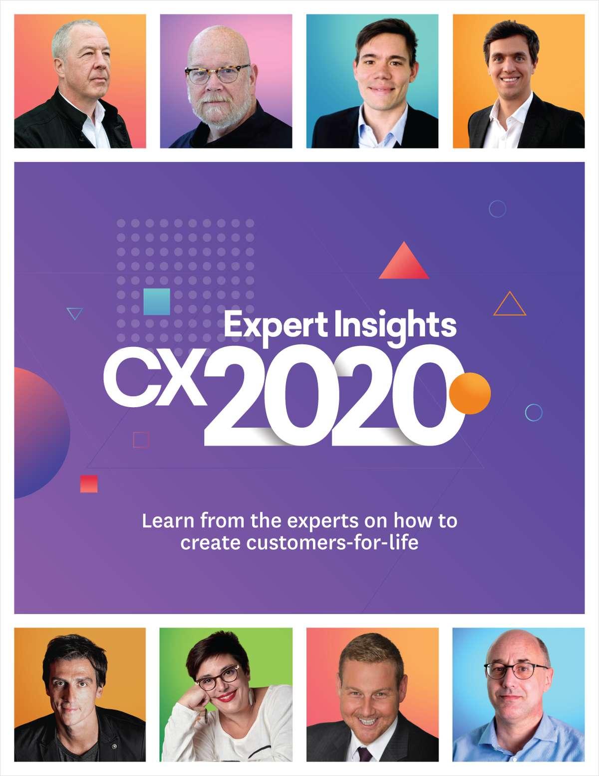 Expert Insights CX 2020
