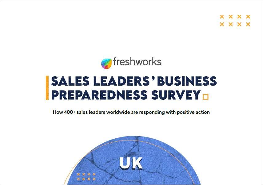 Sales Leaders' Business Preparedness Survey