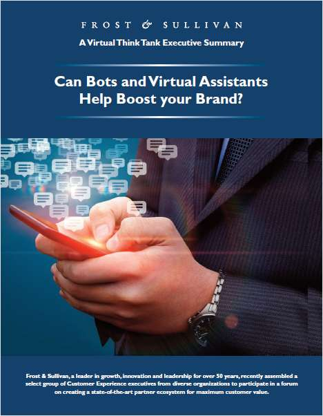Can Bots and Virtual Assistants Help Boost Your Brand?