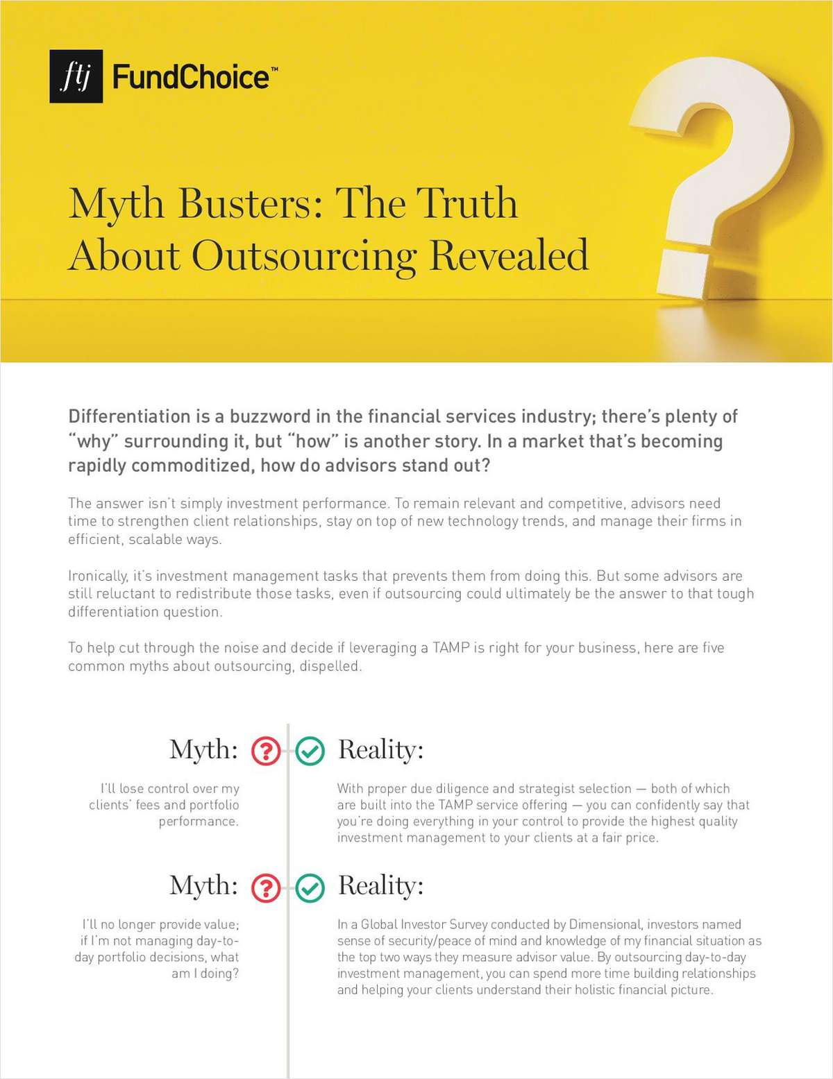Myth Busters: The Truth About Outsourcing Revealed