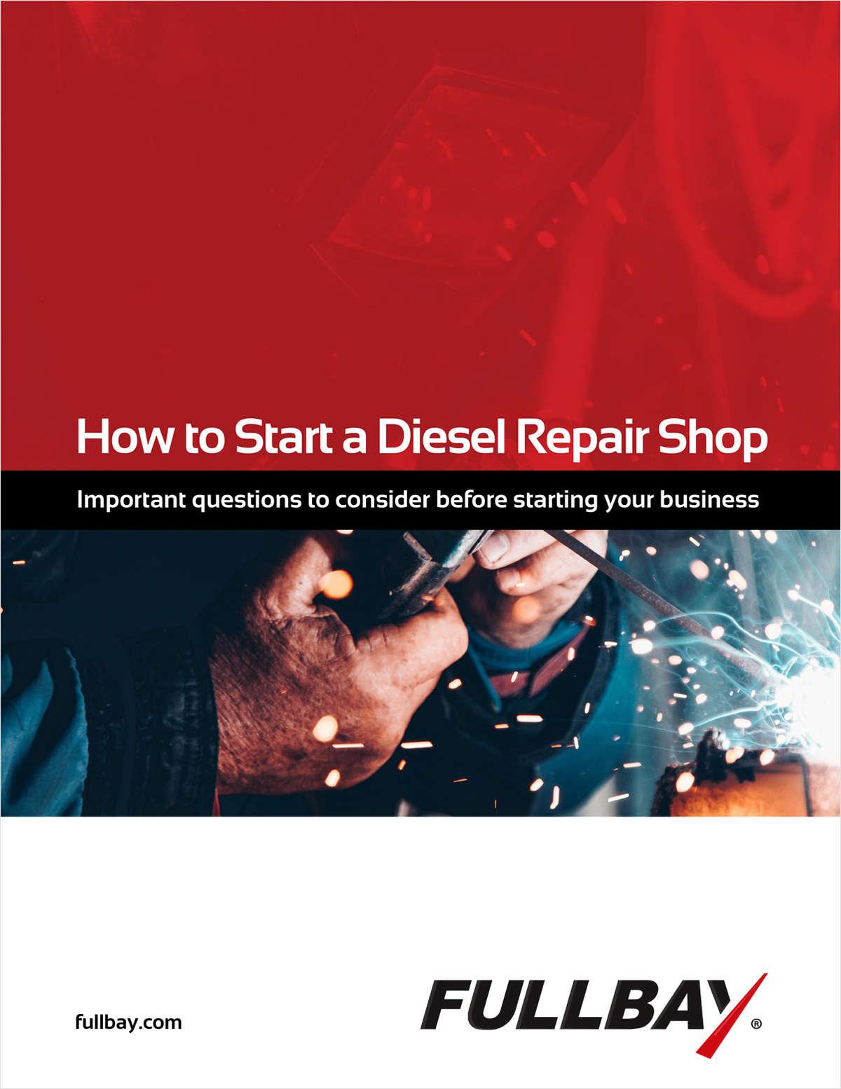 How to Start a Diesel Repair Shop
