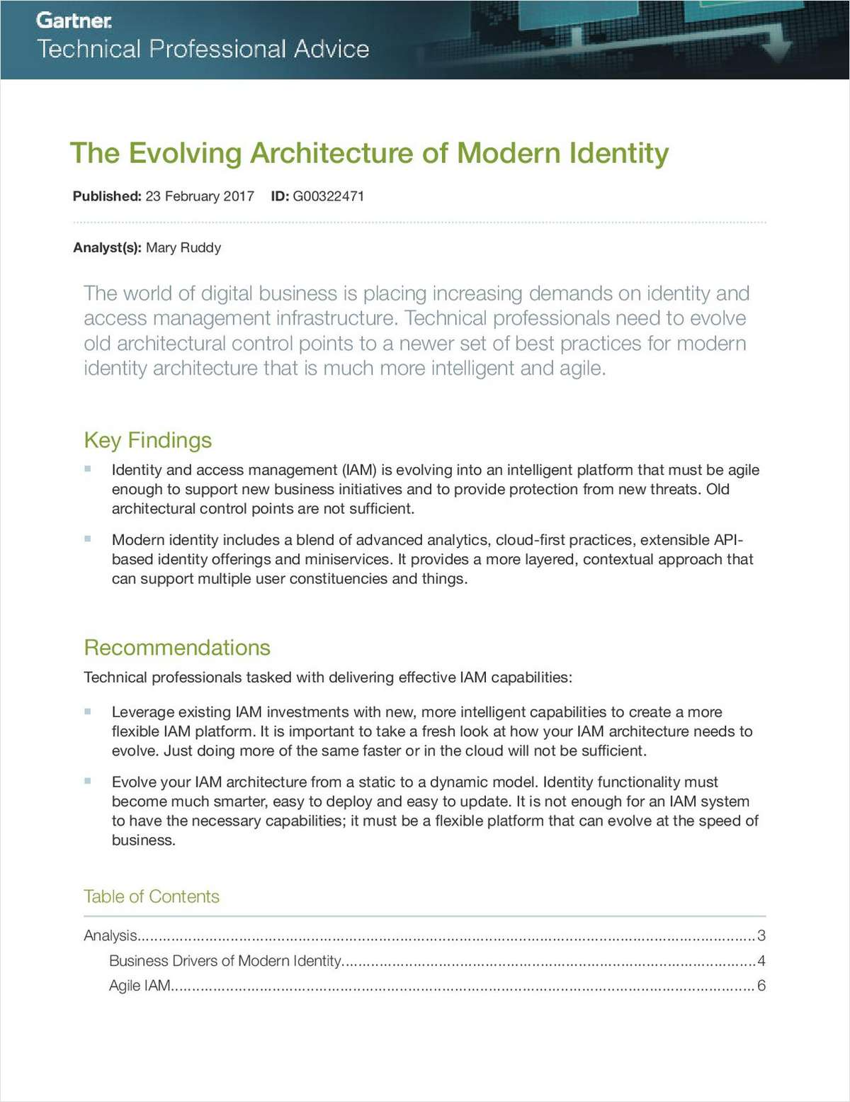 The Evolving Architecture of Modern Identity